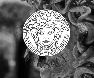 background, greek art, and medusa image