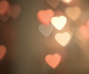 background, heart, and hearts image