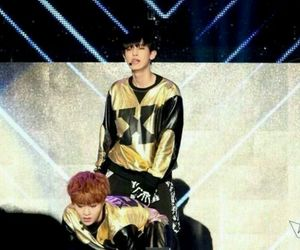 exo, get a room, and xiumin image