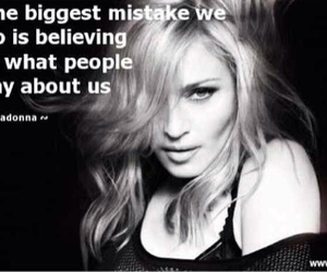 mistakes, madonna, and quotes image