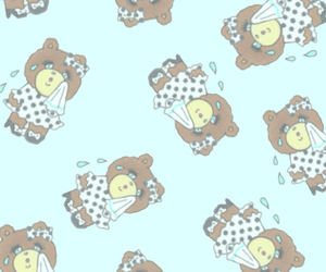 background, bear, and cry image