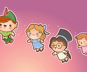 peter pan, disney, and kawaii image