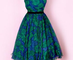 dress, vintage, and vintage dress image