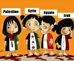 free palestine, syrie, and love image
