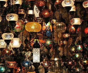 colours, lamp, and memories image