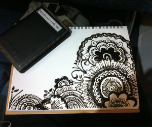 doodles, henna, and nhi image