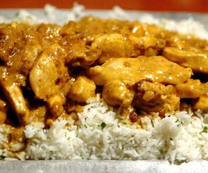 :), Chicken, and curry image