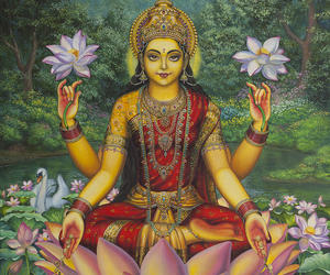 art, Lakshmi, and Hindu image
