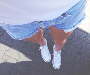 converse, summer, and shorts image