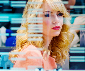 emma stone, gwen stacy, and the amazing spiderman image