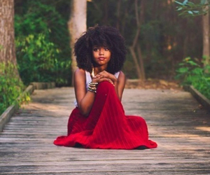 beautiful and Afro image