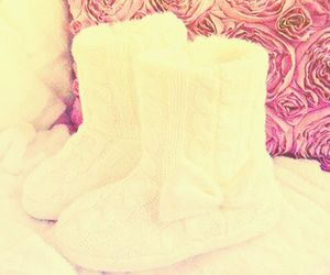 boots, ugg, and white image