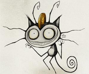 pokemon, tim burton, and meowth image