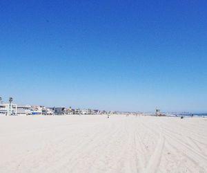 beach, newport, and OC image