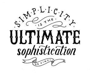 quote, simplicity, and text image