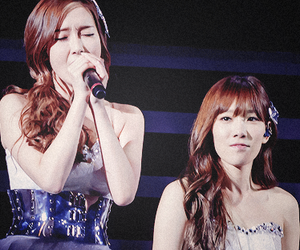 snsd, taeyeon, and taengsic image