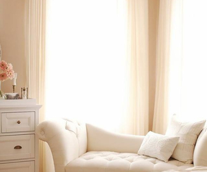 chesterfield, creme, and decor image