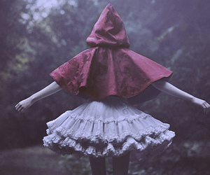 fairytale, Q, and red riding hood image