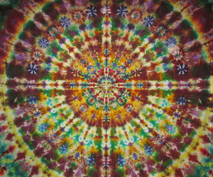 tie dye and hippie image