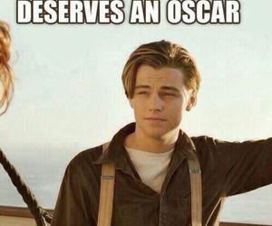 oscar, titanic, and Leo image