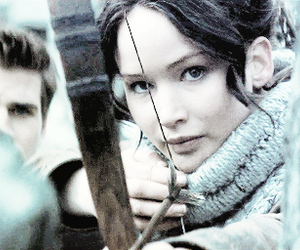 katniss everdeen, hunger games, and gale image