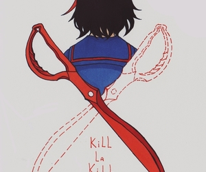 anime, kill la kill, and girl image