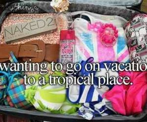 vacation, summer, and tropical image