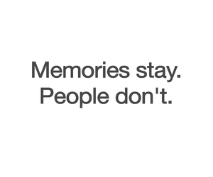 memories, people, and quotes image