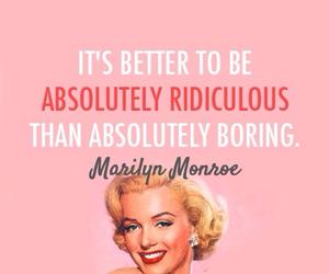 boring, Marilyn Monroe, and cool image