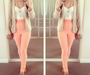 fashionable, girly, and pink image