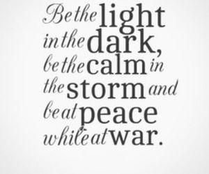 calm, dark, and light image