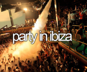ibiza, party, and bucketlist image