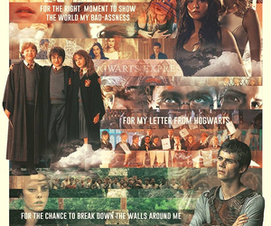 harry potter, books, and maze runner image