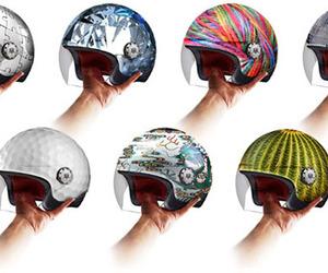 desigm, bike, and helmet image