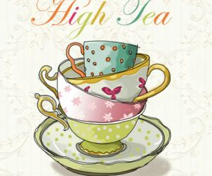 high tea and mugs image