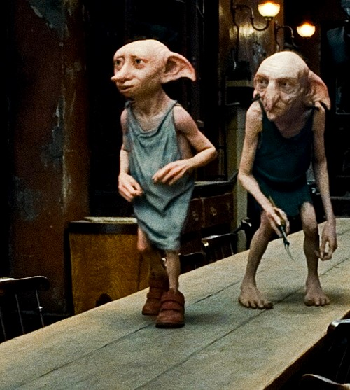harry potter, dobby, and kreacher image