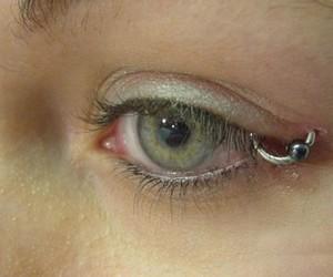 piercing and eye image