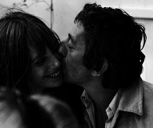 jane birkin, couple, and serge gainsbourg image
