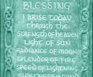 blessing, celtic, and quote image