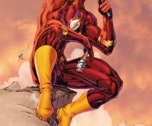 cartoon, flash, and hero image