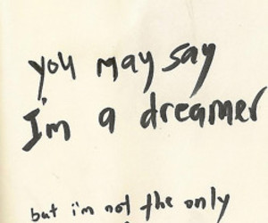 agreed, dreamer, and the beatles image