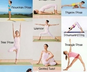fitness, poses, and health image
