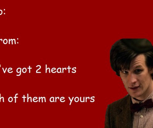 doctor who and card image
