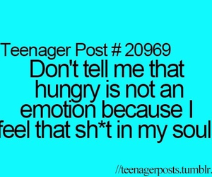 hungry, soul, and emotion image