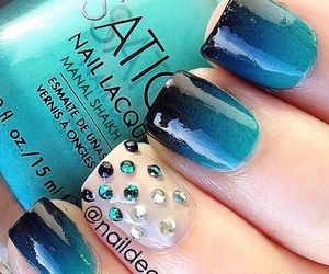 nails, pretty, and beauty image