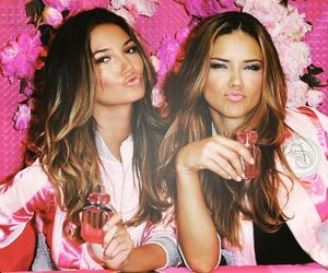 Adriana Lima, Victoria's Secret, and pink image