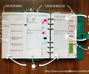 agenda and journal image