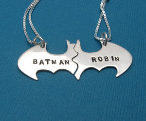 batman, robin, and necklace image