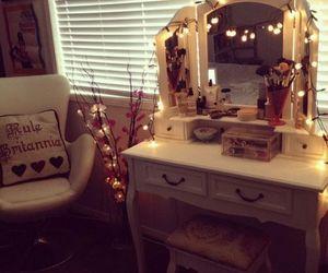 makeup, light, and room image