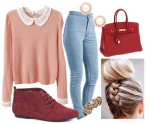 outfit, cute, and jeans image